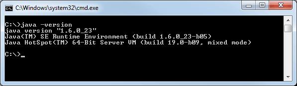 Java Version überprüfen