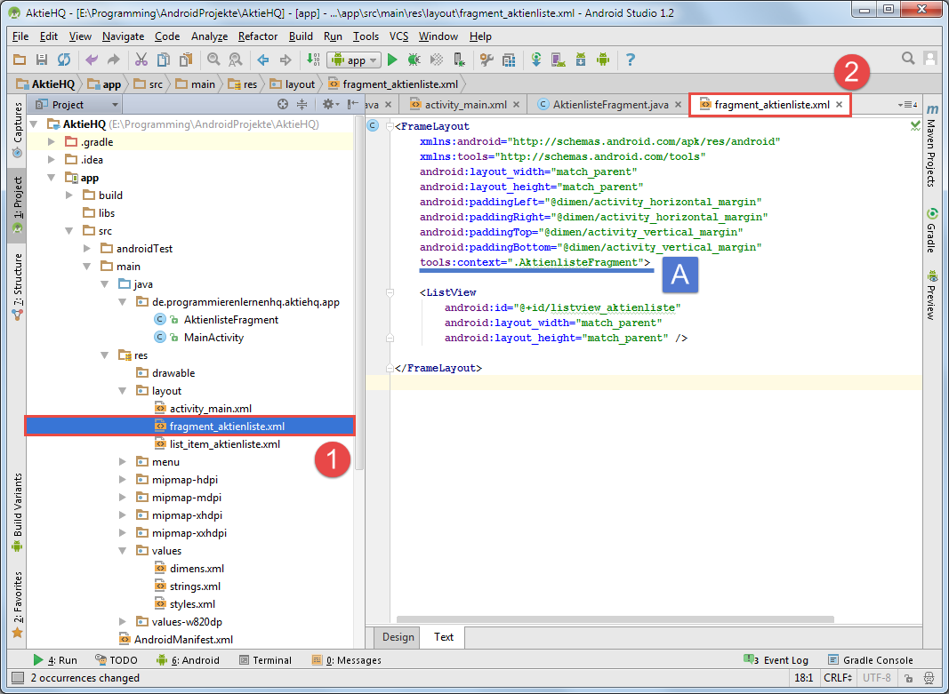 Android Tutorial: Refactoring und Logging in Android Studio