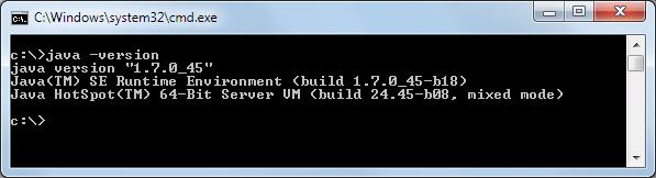 installierte Java Version prüfen