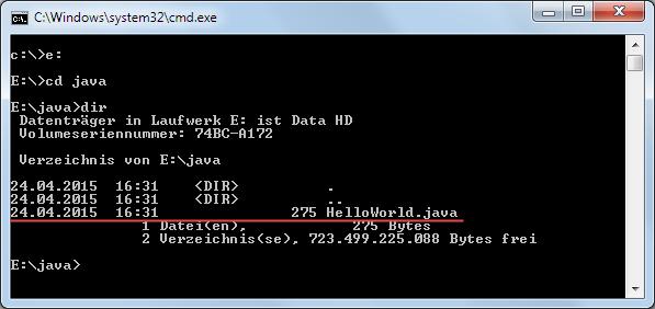 Java 8 Quelltext kompilieren 1