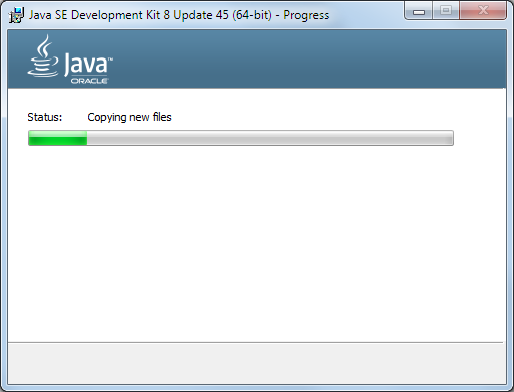 Java 8 Installation Dialog 3
