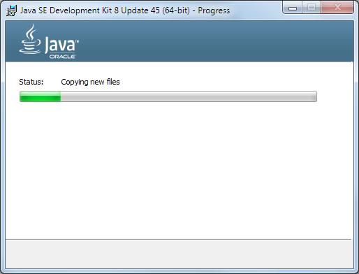 Java 8 Installation Dialog 3