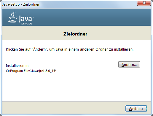 Java 8 Installation Dialog 4