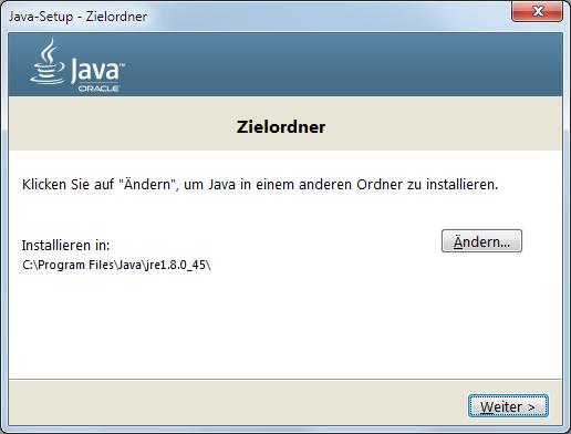 Java 8 Installation Dialog 4