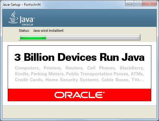 Java 8 Installation Dialog 5