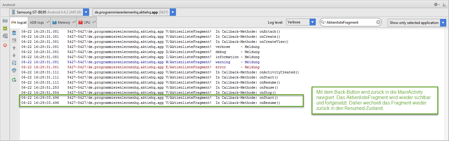 Android Tutorial: Activity & Fragment Lifecycle in Android