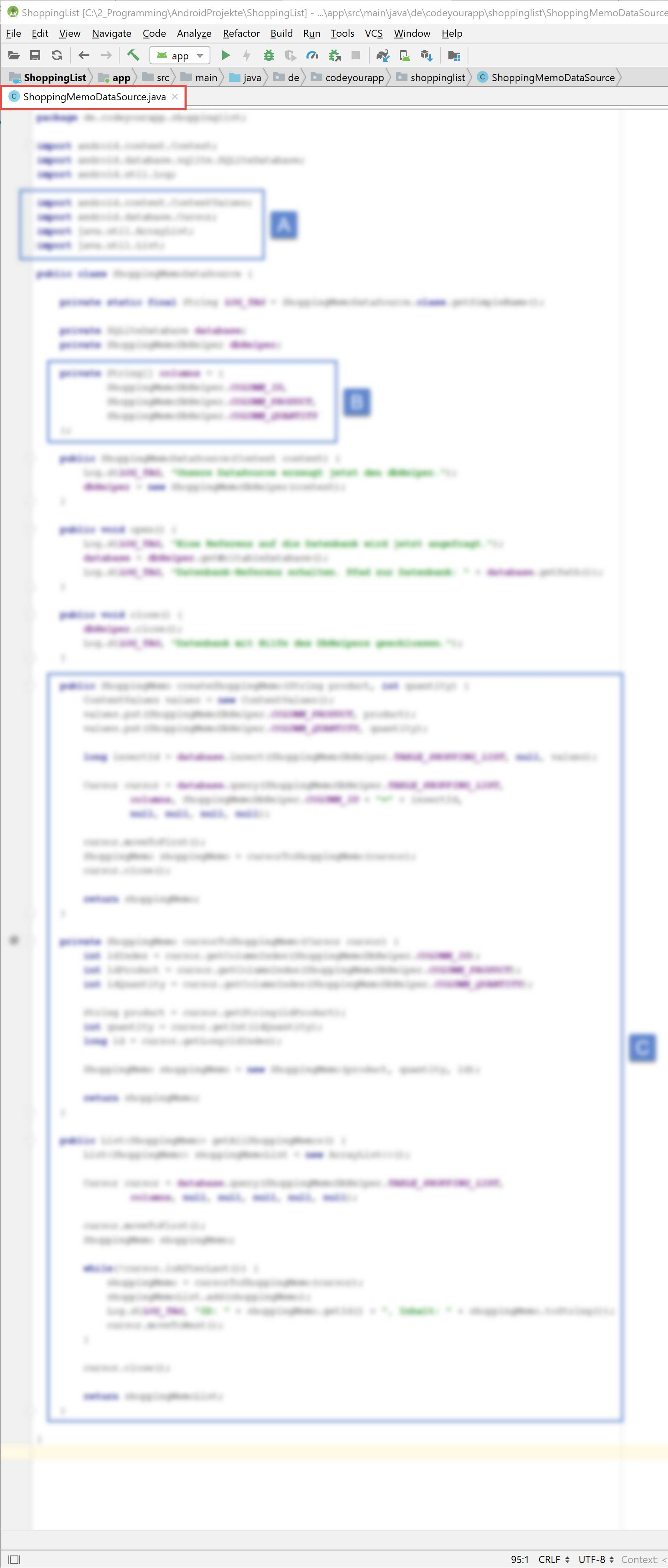 android_sqlite_lektion4_blurry_a