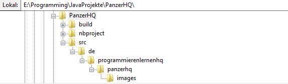 java spiel package tree