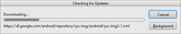 android studio update check