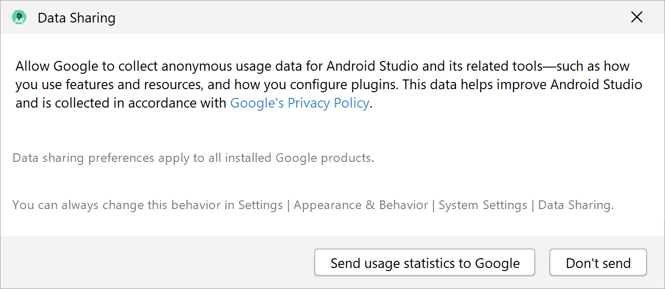 setup_android_studio_data_sharing