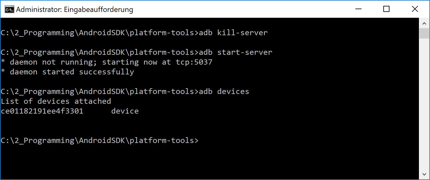 adb_server_starten