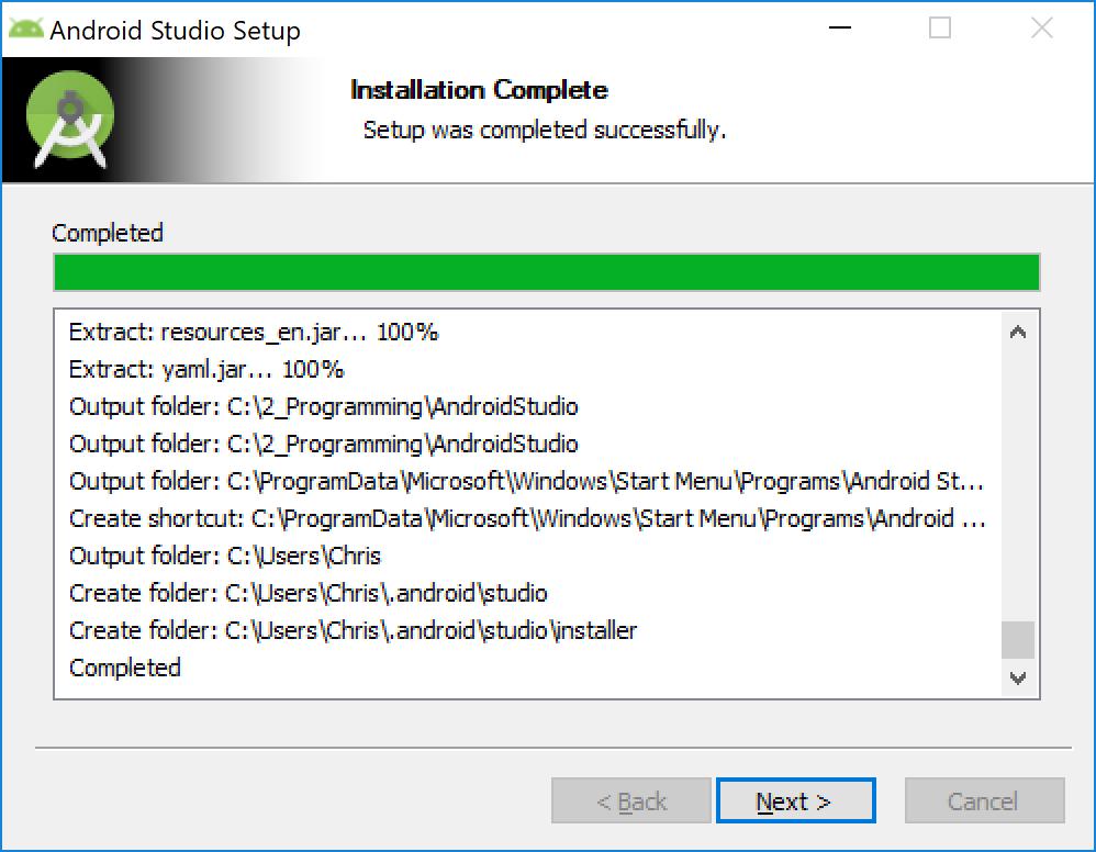 android_studio_installieren