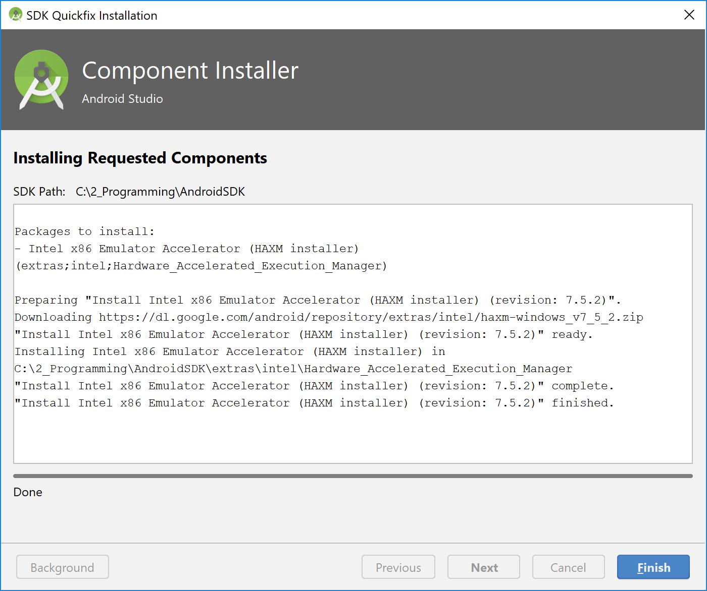 component_installer_haxm_finished