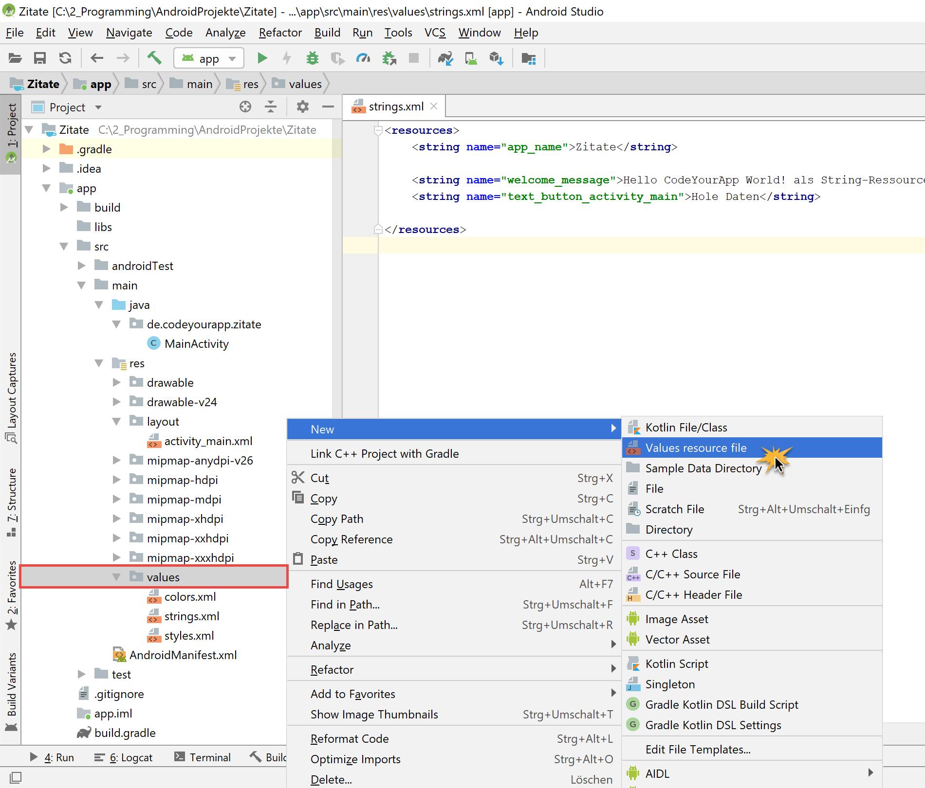 create_dimens_resource