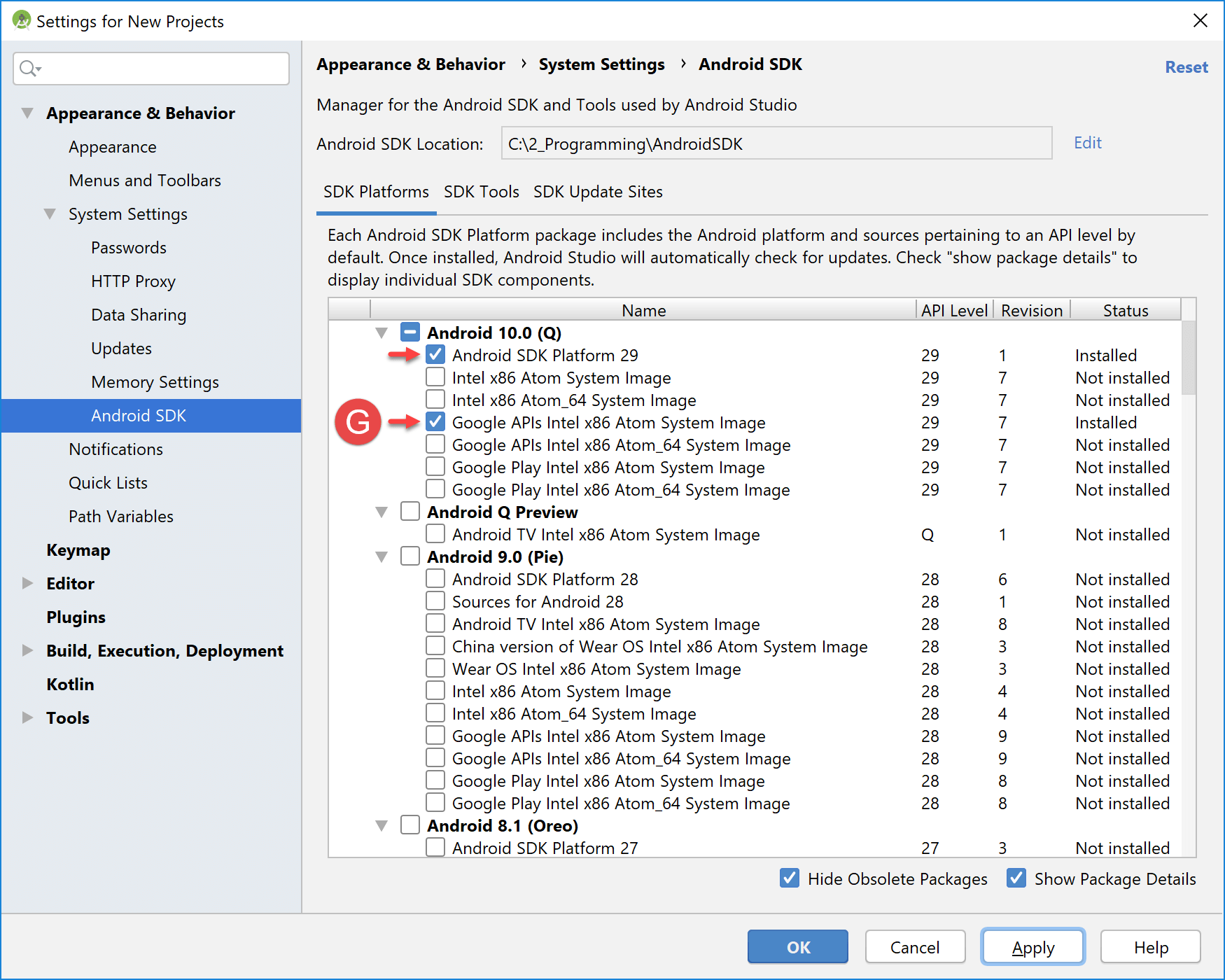 sdk_manager_platforms_installed