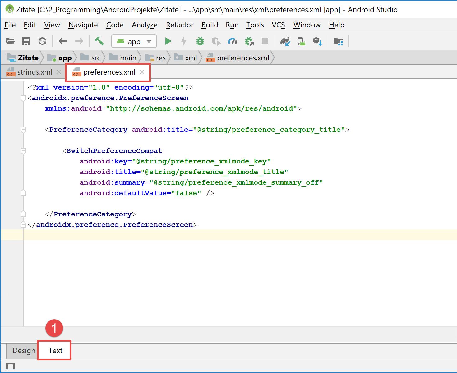 preferences_xml_code