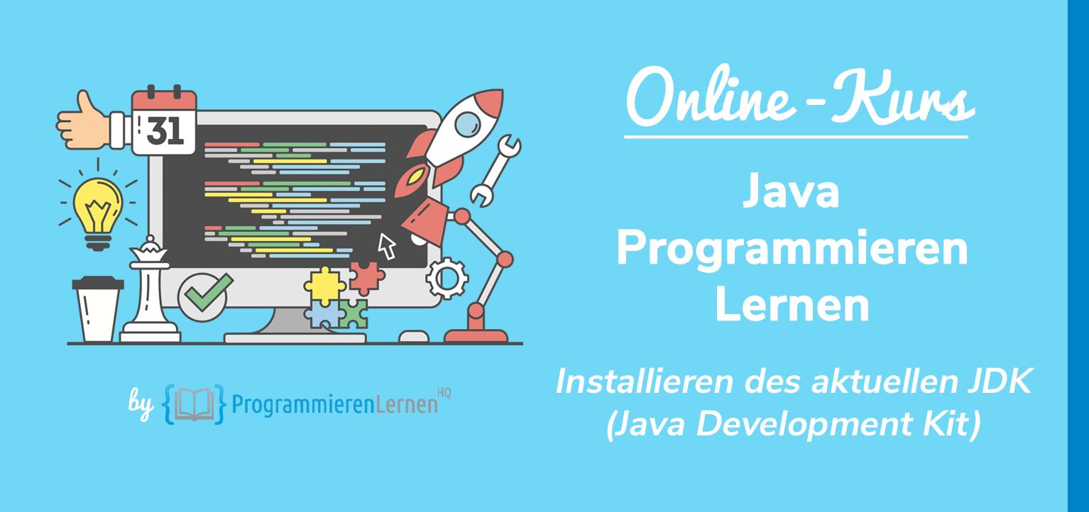 Wie installiere ich Java   Installieren des aktuellen JDK ...